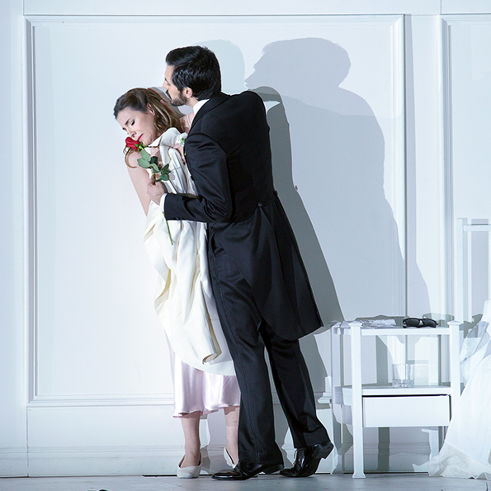 """Rodelinda"" by Handel. Stage director: Claus Guth. (Teatro Real)"