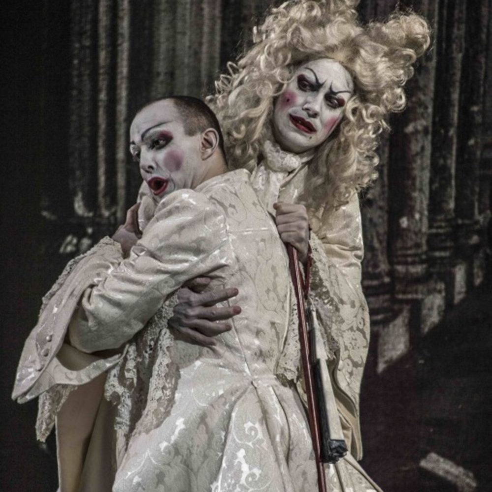 """Artaserse"", by Vinci. Stage director: Silviu Purcarete (Opéra Royal Versailles) With Franco Fagioli"